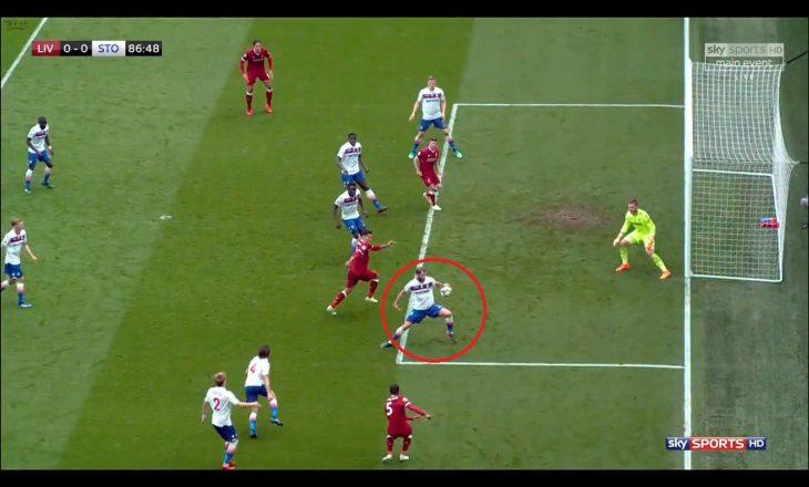 Stoke fiton një pikë, por a iu mor Liverpoolit fitorja nga gjyqtarët (VIDEO)