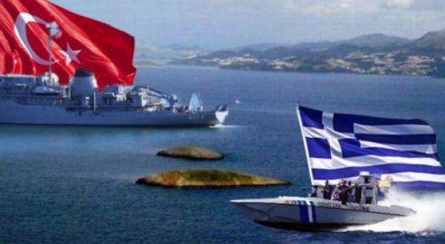 Rriten tensionet Turqi – Greqi, heqin flamurin grek nga ishulli