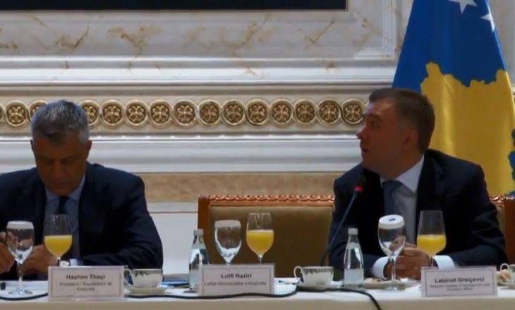 Kush po e zëvendëson Isa Mustafën në konferencën me Thaçin, Haradinajn dhe Kurtin