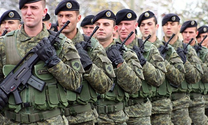 Ushtria e Kosovës do t'i ketë 8000 ushtarë