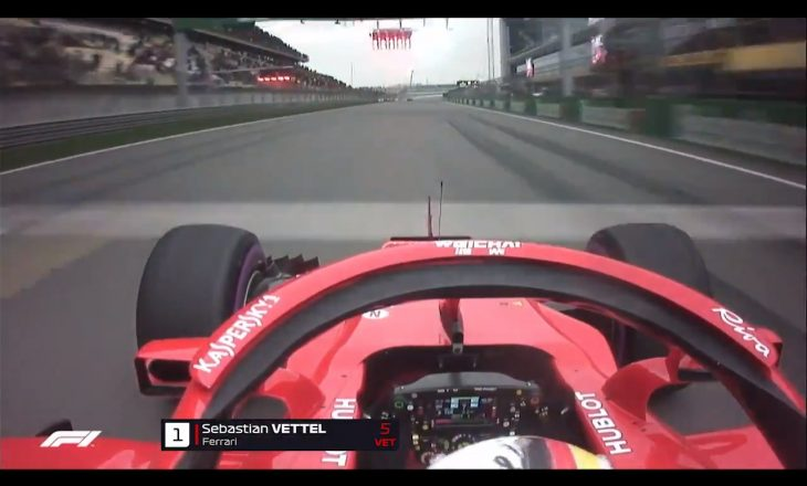 Vettel thyen rekordin e shtegut në Shanghai (VIDEO)