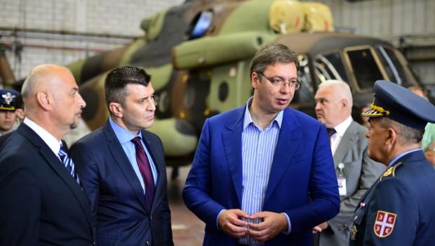 Vuçiq thotë se ishin gati për sulm në veri të Kosovës