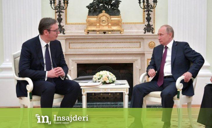 Vuçiq takohet me Putinin para Berlinit