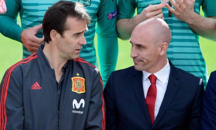 Spanja e përjashton nga kombëtarja selektorin, ja kush e zë vendin e tij
