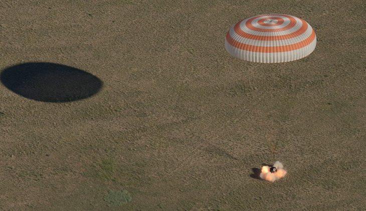 Topi i Botërorit zbret nga hapësira (Foto)