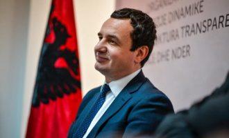 Kurti: Thaçi për t'i shpëtuar burgut, ta bjen kufirin në Vushtrri