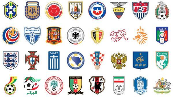 Simbolet e disa prej përfaqësueseve të Botërorit (Foto)