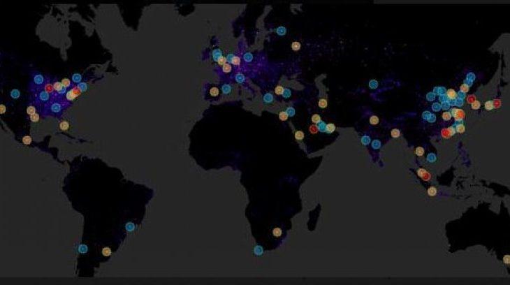 Qytetet më ndotëse në botë