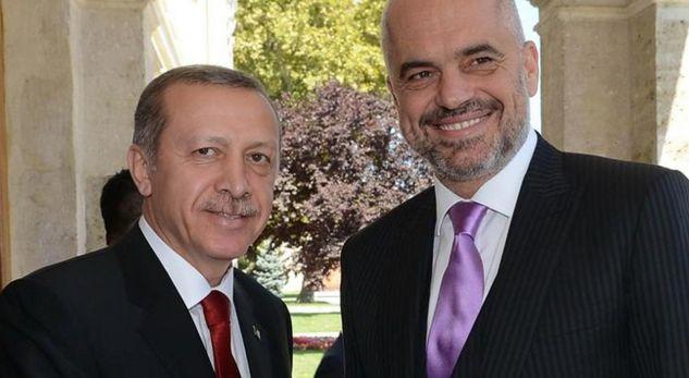 Edi Rama flet me admirim për Erdoganin
