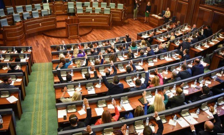Seanca e Kuvendit shtyhet për të martën