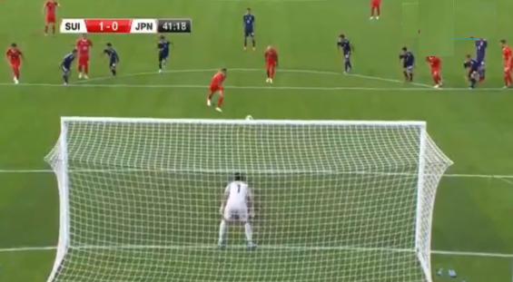 Gol nga penalltia në ndeshjen Zvicër – Japoni (VIDEO)