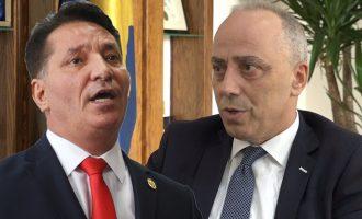 """Dy """"budallenj"""" ruajnë Skënderbeun, dy ministra debatojnë live për hajni"""