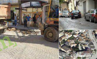 Punimet e Komunës në kanalizim rrezikojnë shkatërrimin e Prishtinës së Vjetër