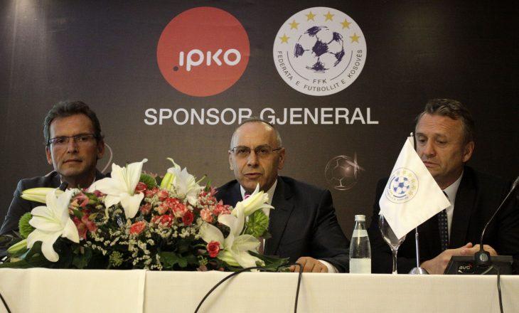 IPKO, sponsor gjeneral i Kombëtares së Kosovës në Futboll dhe i Super Ligës së Kosovës në Futboll