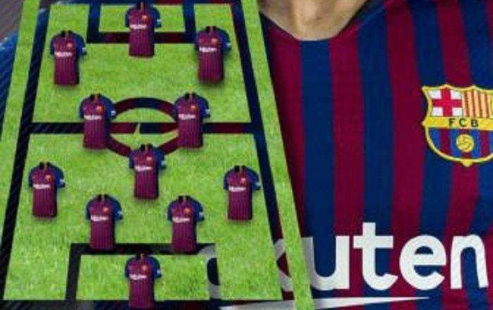 Formacionet e frikshme të Barçës, me objektivin: Fitimin e Championsit (VIDEO)