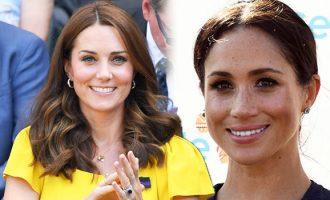 I njëjti event, por ja sa ndryshojnë veshjet e Kate dhe Meghan
