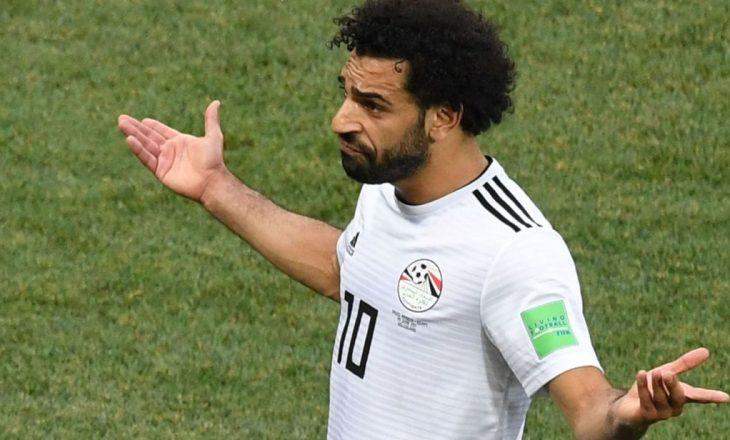Mohamed Salah rezulton pozitiv me Covid-19