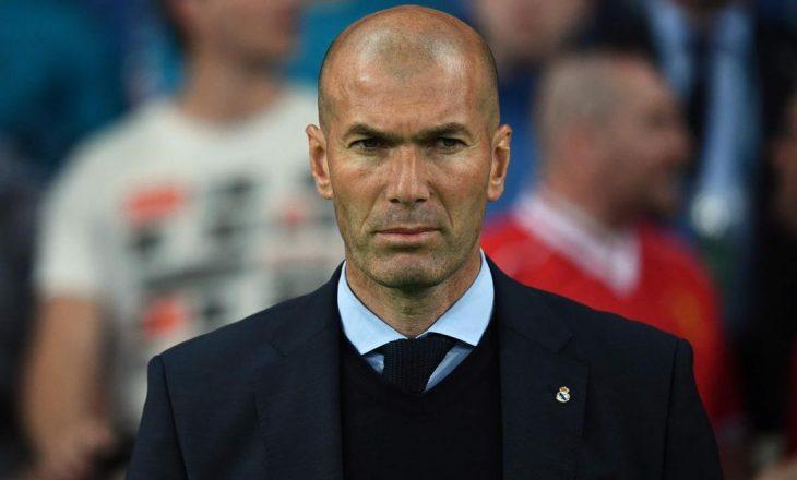 Real Madrid zyrtarizon largimin e Zinedine Zidane