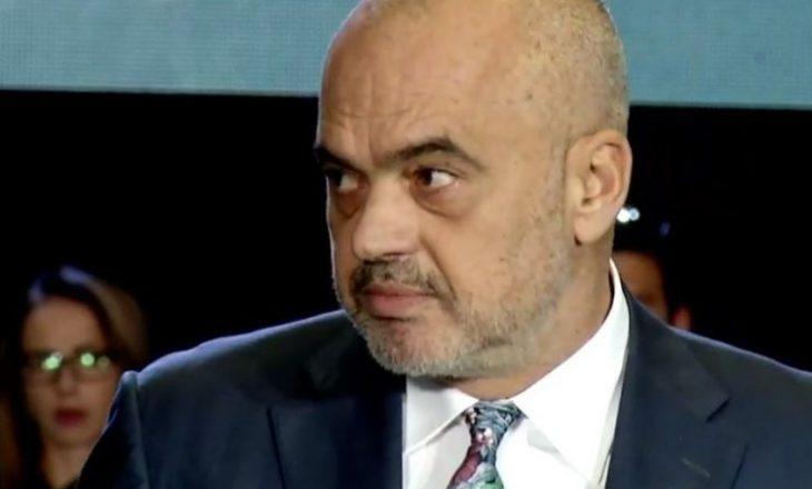 'Edi Rama nuk lejohet të flasë në Kuvendin e Kosovës'