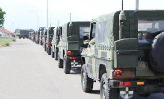 KFOR-i gjerman i dhuron FSK-së 44 automjete