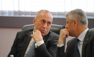 """""""Luftë nëse preken kufijtë"""" – Thaçi i përgjigjet Haradinajt"""