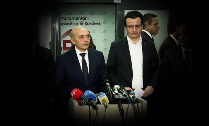 """""""LDK-ja e do MPB-në për të ruajtur njerëzit e vet"""""""