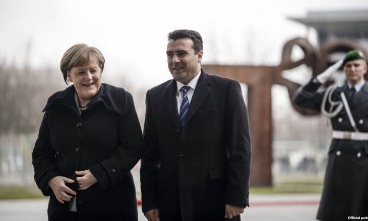 Merkel të shtunën viziton Shkupin