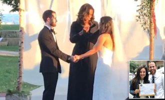 Suprizohet çifti në altar, kurorëzohet nga Michelle Obama