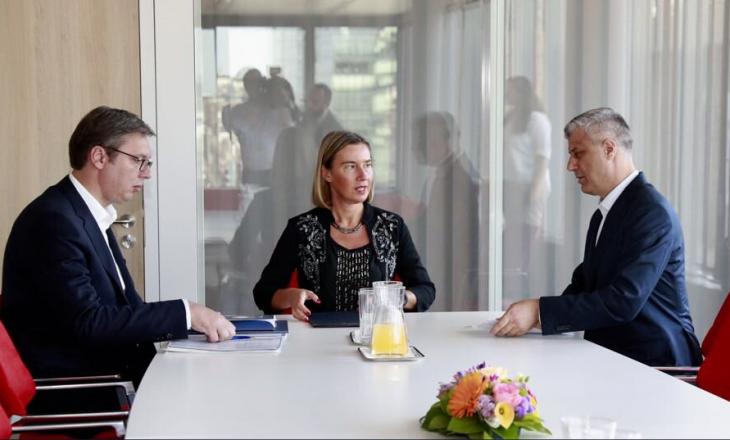 Mogherini: Muajt e ardhshëm, vendimtar për marrëveshjen Kosovë-Serbi