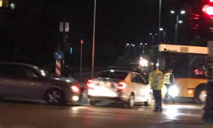 Aksident në Prishtinë, lëndohen katër policë