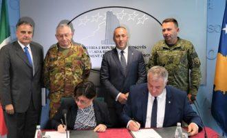 Haradinaj kërkon ndihmën e Italisë për ushtrinë