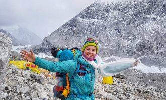 Uta Ibrahimi ngjitet edhe në majen Cho Oyu në Himalaje