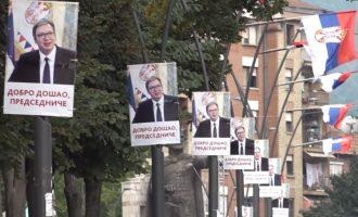 Vuçiq vazhdon vizitën në Kosovë