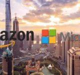 Amazon dhe Microsoft do të hapin qendra të inteligjencës artificiale në Shanghai