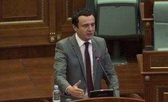 Kurti propozon marrëveshje me Shqipërinë për mbrojtje të përbashkët