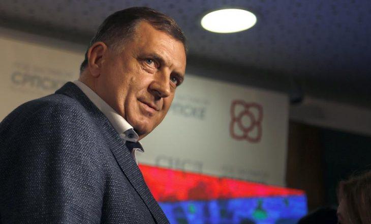 Dodik: Në Sarajevë, Tiranë dhe Podgoricë janë qendrat për parandalimin e ndikimit rus