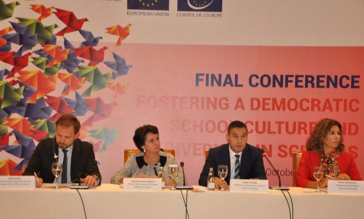 Ministri Bytyqi: Të punojmë së bashku për nxitjen e diversitetit në shkolla