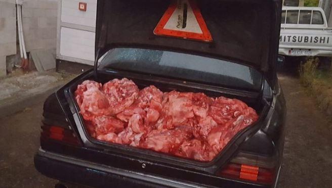 Konfiskohet mish gjedhi,  i rrezikshëm për konsum