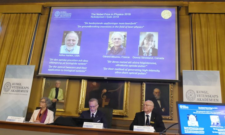Një grua fiton Çmimin Nobel për Fizikë pas 55 vjetësh