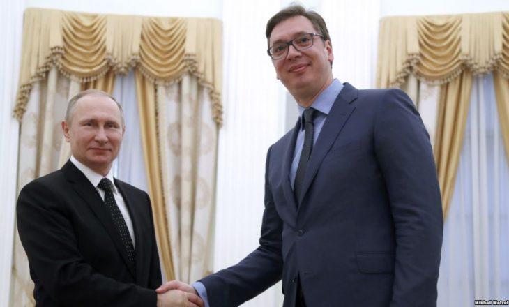 Vuçiqi e Putini nesër bisedojnë edhe për Kosovën