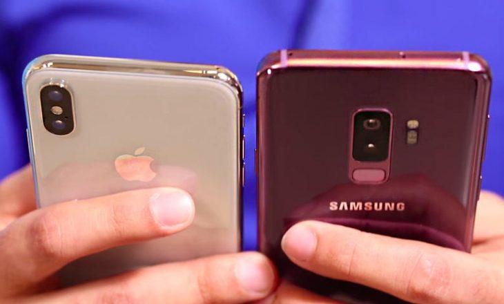 Iphonet e rinjë të mrekullueshëm, por prapa Samsung Galaxy Note 9