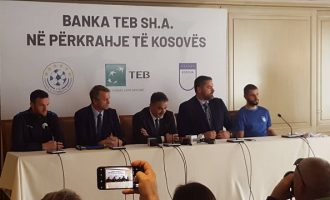 TEB Banka vazhdon sponsorizimin e federatës së futbollit dhe basketbollit