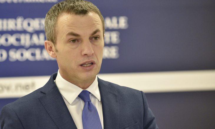 Ministri Reçica flet për sistemin e sigurimeve sociale