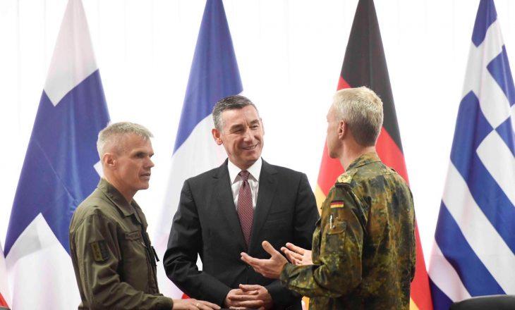 Veseli: Ushtria e Kosovës e përmbyll ndërtimin e arkitekturës rajonale të sigurisë