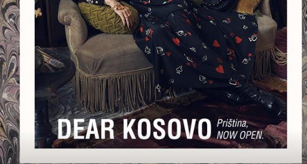 """""""Priština"""" – Kompania ZARA njofton për hapjen e dyqanit në Kosovë me fjalë serbe"""