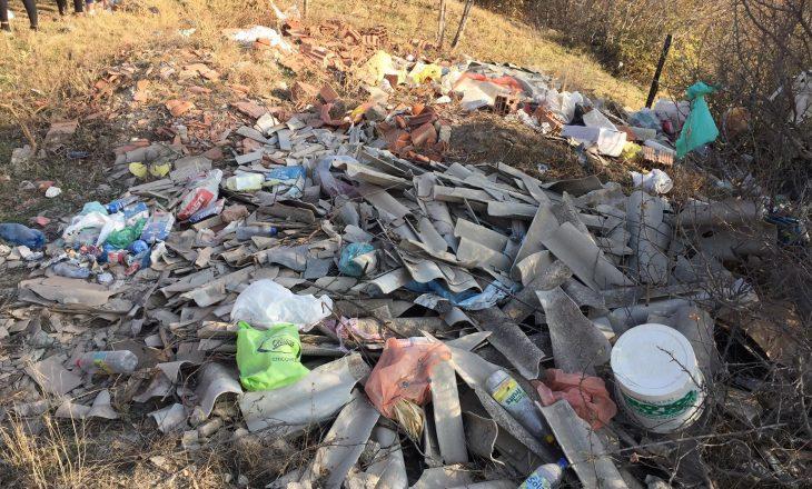 Aksioni Ta Pastrojmë Kosovën vazhdon në deponin më të madhe të Istogut