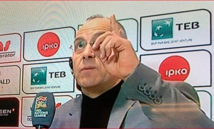 Momenti emocionues kur kryetari i FFK-së flet për Vokrrin pas fitores ndaj Azerbajxhanit
