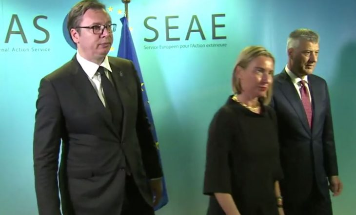 Reagimi i BE-së pas takimit mes Thaçit dhe Vuçiqit