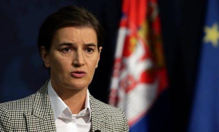 Kryeministrja serbe tregon nëse do t'i përgjigjen me masë reciproke Kosovës