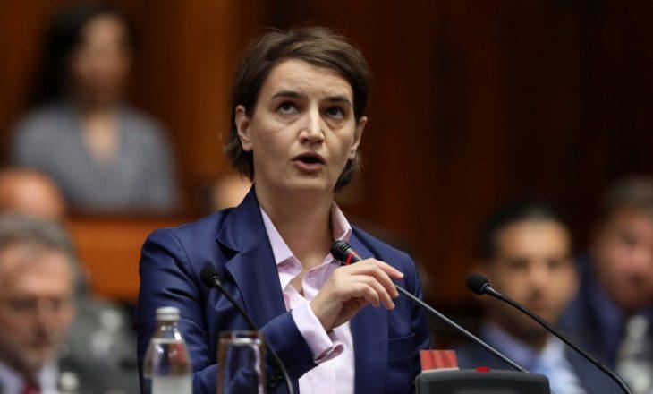 Brnabiq: Nuk besoj se jemi afër marrëveshjes me Kosovën